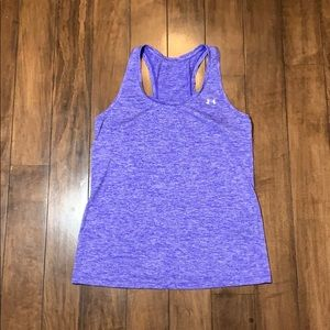 Under Armour Tank top Purple size small